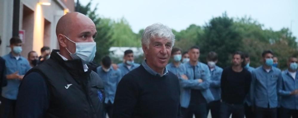 Percassi: «Grazie al mister, allo staff e ai giocatori: avete fatto la storia dell'Atalanta»