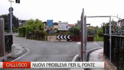 Ponte di Calusco: stop alle auto quando passa il treno