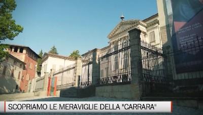 Sabato e domenica su BergamoTv: «La Carrara, il Museo delle Meraviglie»