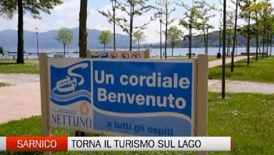 Sarnico, torna il turismo sul lago d'Iseo