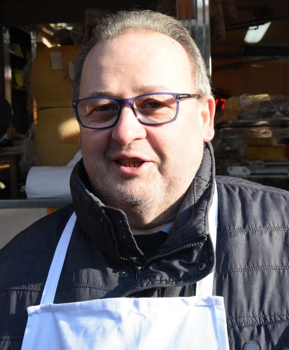 Mauro Dolci in una foto scattata lo scorso gennaio