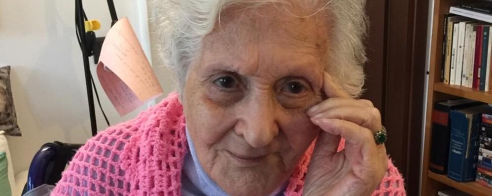 Treviglio, i 105 anni di nonna Clara: una lunga vita tra due pandemie