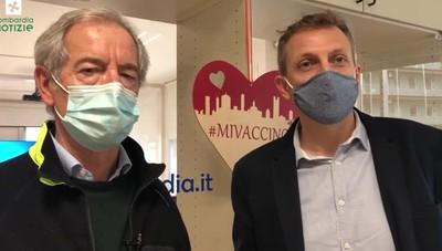 Vaccini, Bertolaso: «La Lombardia corre»