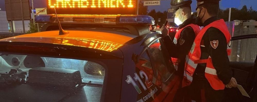 Controlli dei Carabinieri sulle strade della provincia: arresti e denunce nel weekend