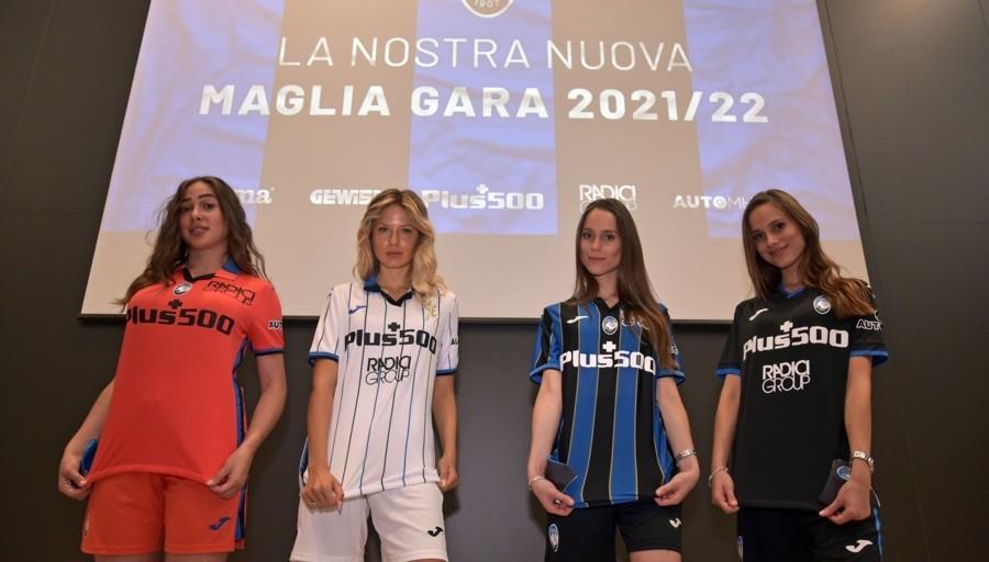 Atalanta, le nuove maglie con la scritta Bergamo. «Stadio ...
