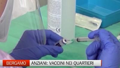 Allarme per gli over 60: a Bergamo arrivano i camper per le vaccinazioni nei quartieri