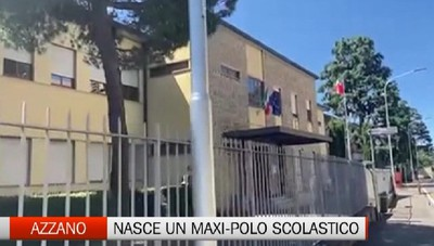Azzano crea un nuovo polo scolastico. Investiti 4 milioni di euro