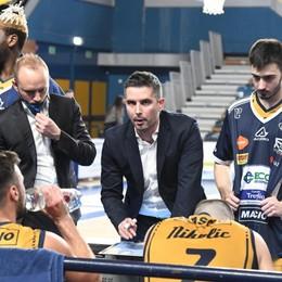 Basket, Treviglio a sorpresa non rinnova coach Zambelli. Riserbo sul sostituto