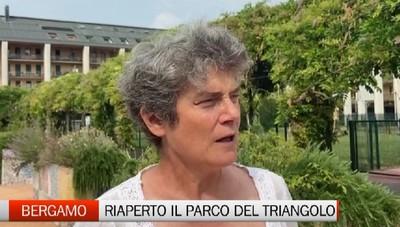Bergamo: dopo il degrado riapre il parco del Triangolo