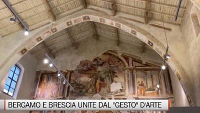 Bergamo e Brescia ripartono dal «Gesto» artistico