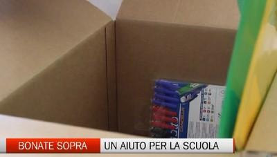 Bonate Sopra: parte la raccolta di quaderni e penne per le famiglie in difficoltà
