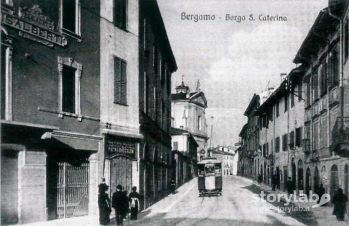 Borgo Santa Caterina nel 1910