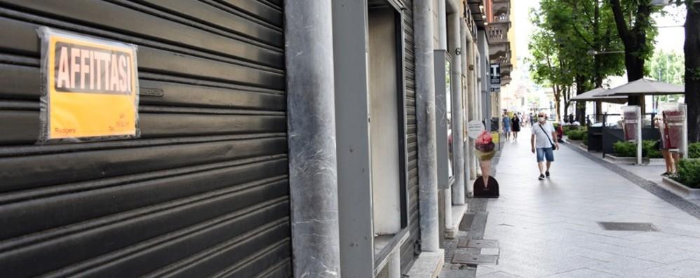 Commercio a Bergamo, in 5 anni i negozi sfitti crescono del 10%