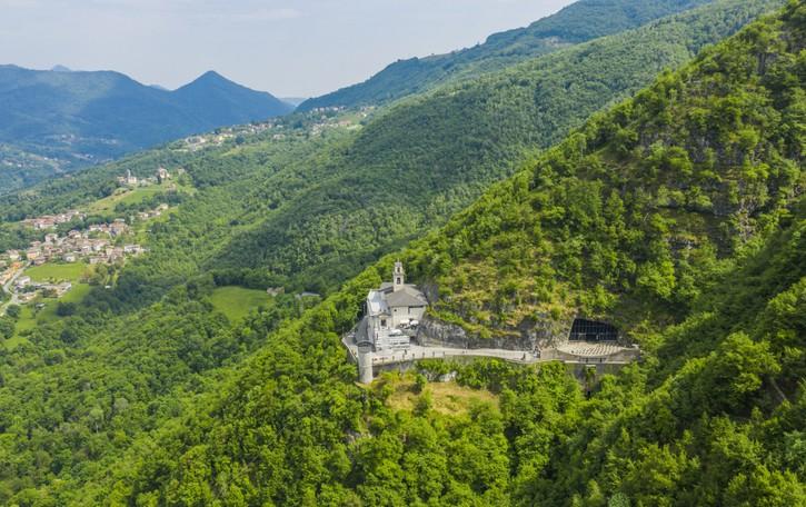 Da Bergamo al Santuario della Cornabusa, luogo del cuore FAI