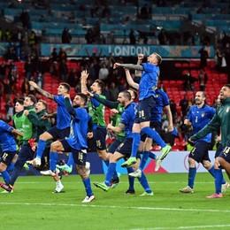 Europei, l'Italia  vince ai rigori contro la Spagna e va in finale. Mancini: «Merito dei ragazzi» - Foto