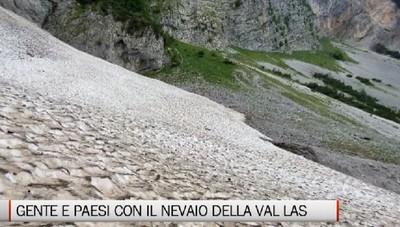 Gente e Paesi, il nevaio della Val Las