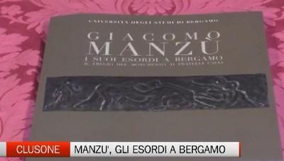 Giacomo Manzù, i suoi esordi a Bergamo.