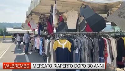 Il mercato di Valbrembo riapre dopo trent'anni