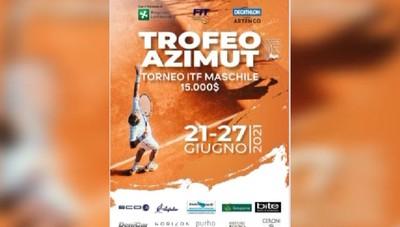 Il tennis internazionale a Bergmo dal 21 giugno con l'Itf Trofeo Azimut