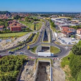 Il tratto Treviolo-Paladina della Tangenziale Sud sarà completato a febbraio 2022 - Video
