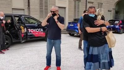 Linus e Nicola a Bergamo, parte per il Tour de Fans: il video-racconto