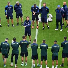 L'Italia affronta il Belgio, Mancini: «Faremo la nostra partita, per vincere»