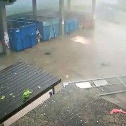Lurano, la distruzione della tromba d'aria: i video completi della Polizia locale
