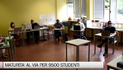 Maturità al via per 9500 studenti bergamaschi