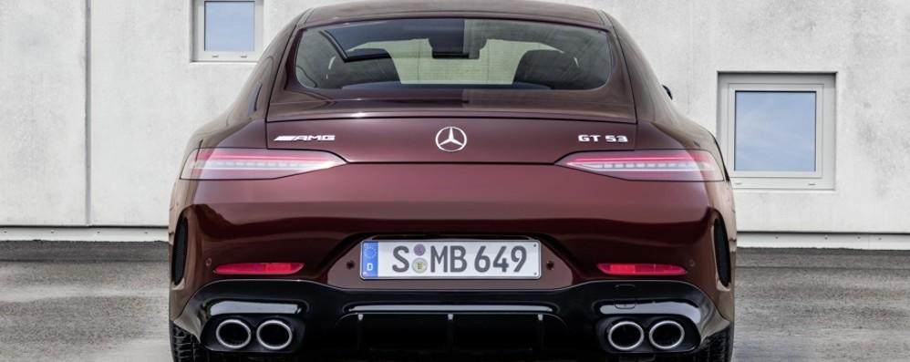 Mercedes-AMG: arriva la GT Coupé a 4 porte