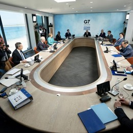 Nel G7 l'anomalia tutta italiana