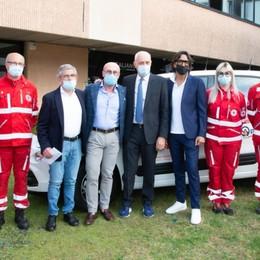 Nuovo mezzo donato alla Croce Rossa: «Grazie ai tifosi dell'Atalanta» - Foto