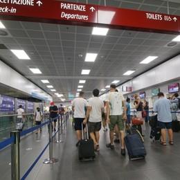Orio, nei weekend si torna a volare: «Recuperato il 75% dei passeggeri»