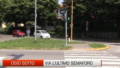 Osio Sotto: la provinciale  sarà senza semafori