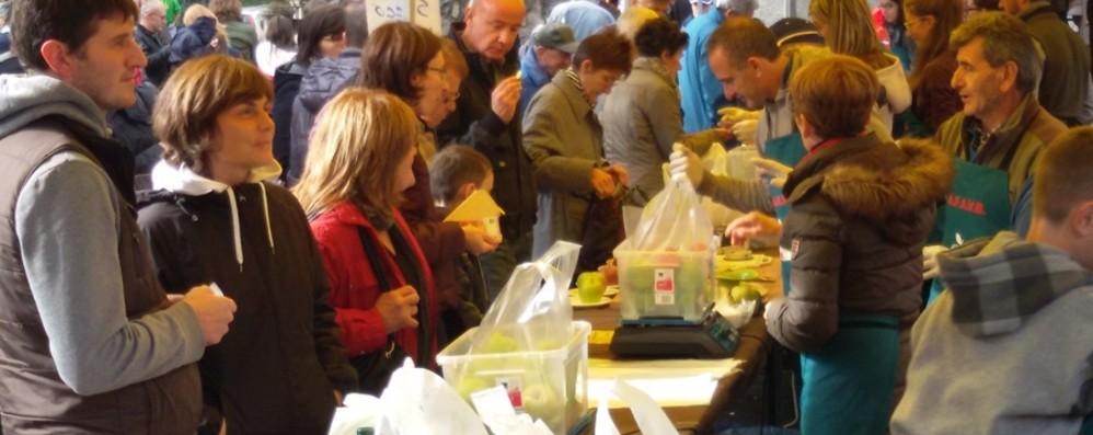 Piazza Brembana, la maxi sagra della mela non ci sarà: «Troppe responsabilità»