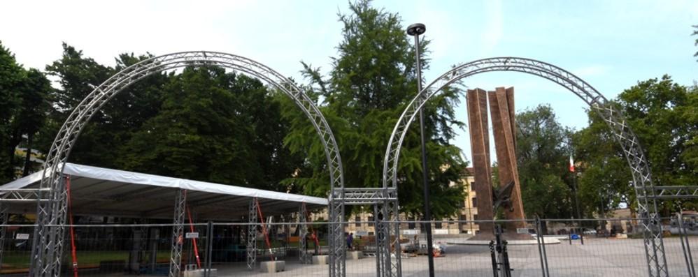 Piazzale Alpini cambia pelle grazie a Summer Revolution