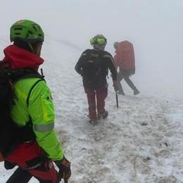 Pizzo Redorta, 72enne di Vertova precipita dalla cresta in un canale