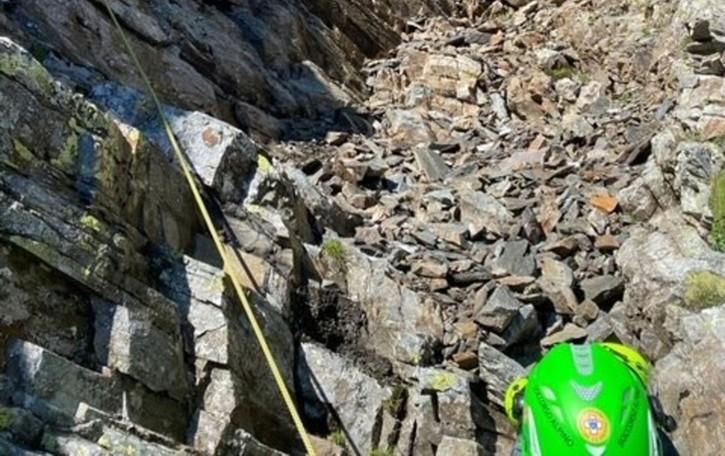 Recuperato il corpo dell'alpinista di Vertova precipitato al Pizzo Redorta