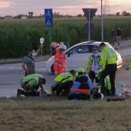 Scontro in moto nel Bresciano, feriti due fratelli: gravissimo 26enne di Mornico