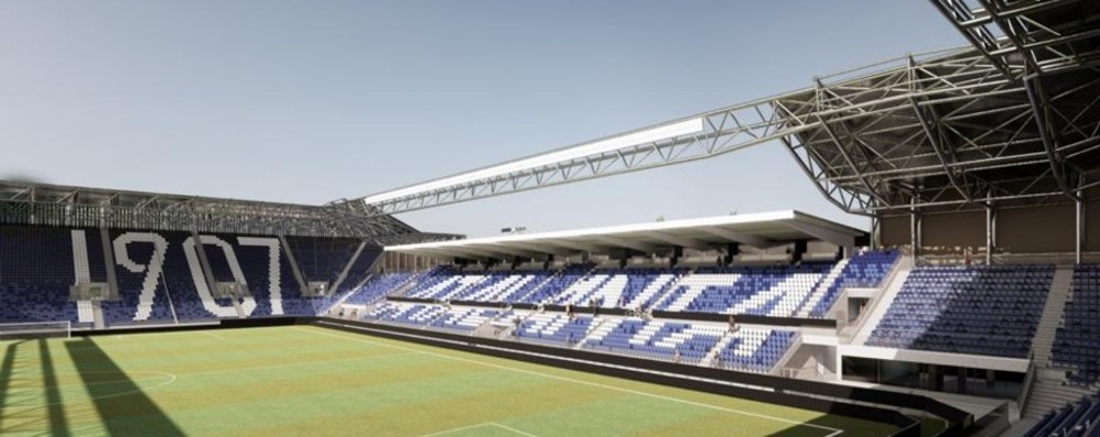 Stadio, fischio d'inizio per la nuova curva Sud. A luglio sopralluogo dei delegati Uefa