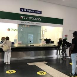 Stazione di Bergamo, riapre la biglietteria dei treni