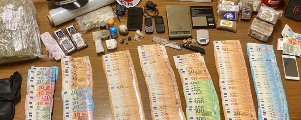 Stezzano, lite tra fratelli: i carabinieri trovano 4 chili di droga e oltre 20 mila euro