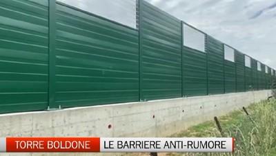 Torre Boldone: arrivano le barriere antirumore