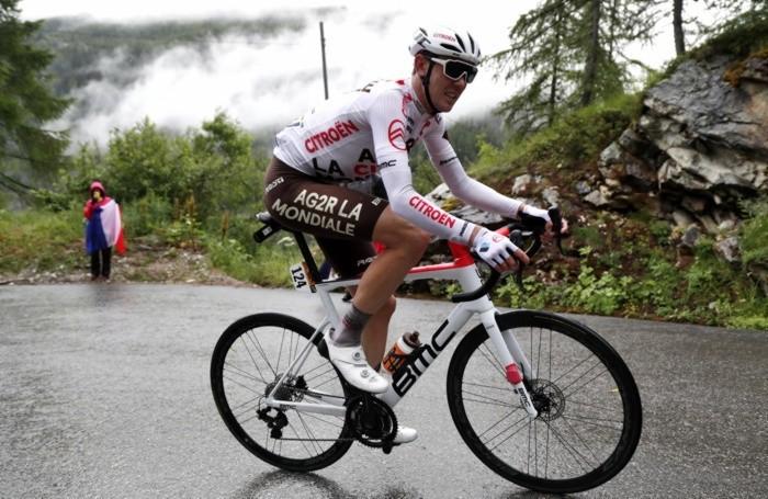 Australian rider Ben O'Connor