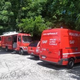 Uomo scomparso a San Giovanni Bianco, ricerche anche coi droni: ancora nessuna traccia