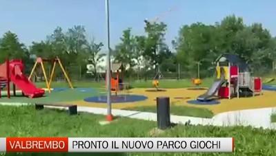 Valbrembo: pronto il nuovo parco giochi inclusivo