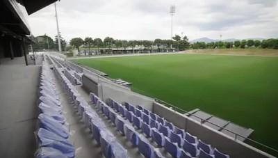 Zanica, Ghirelli (Lega Pro)  in visita al nuovo stadio