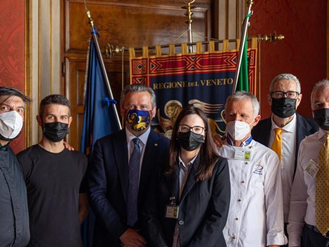 CRV - Asparago Dop di Bassano a palazzo FerroFini auspicio della ripartenza della nostra agricoltura