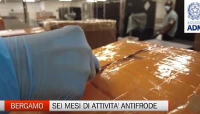 Attività antifrode, in sei mesi sequestrati 8mila beni contraffatti
