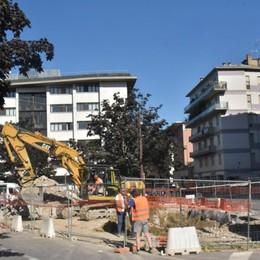 Bergamo, iniziati i lavori per il nuovo parcheggio in via Baschenis