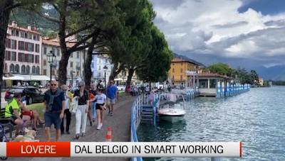 Dal Belgio a Lovere per lavorare in smart working